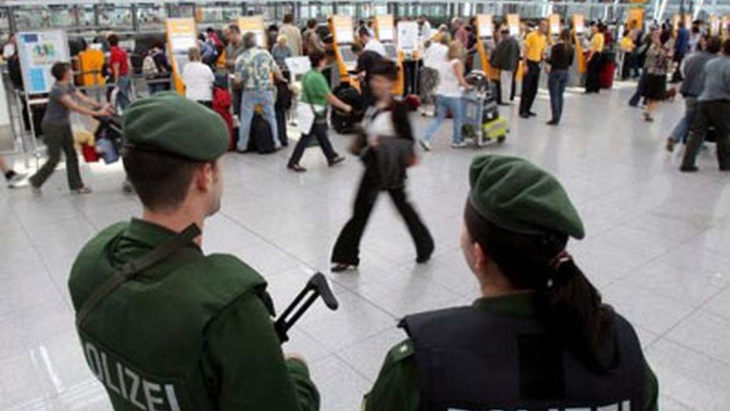 Imagen de archivo del aeropuerto de Berlín.