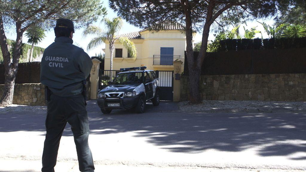 Vivienda de Sotogrande donde un hombre ha matado, supuestamente, a su mujer y a su hija