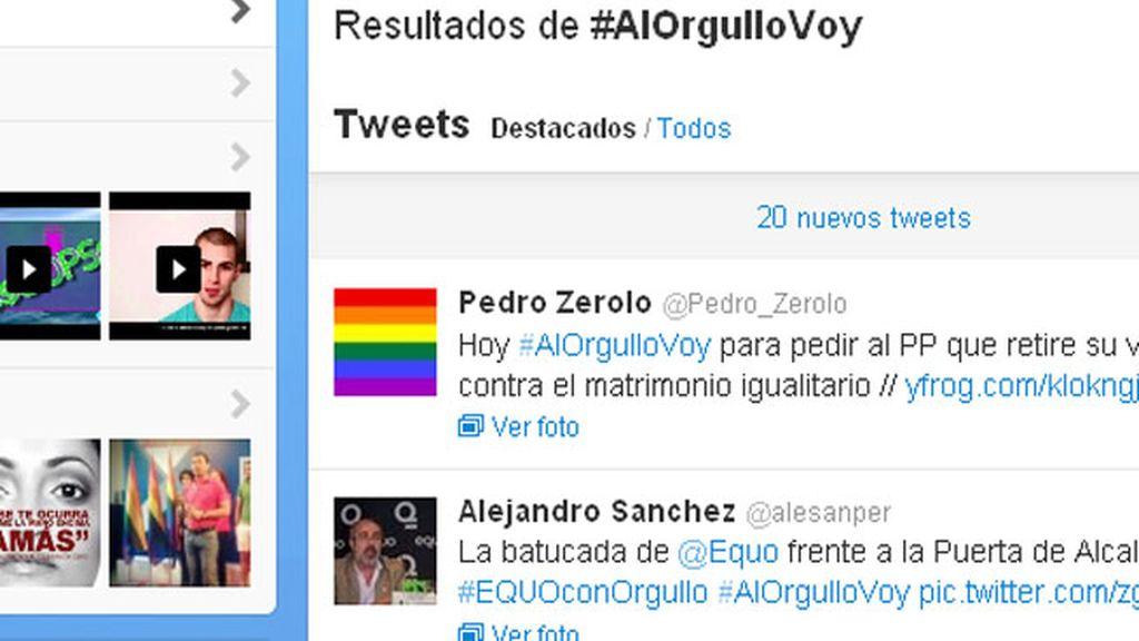 Amenazas contra los gays en Twitter