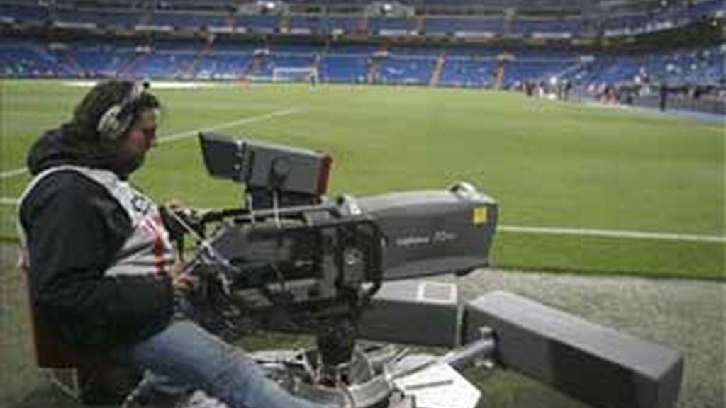 Acuerdo entre Sogecable y Mediapro sobre los derechos televisivos de la Liga española de fútbol. Foto: Archivo