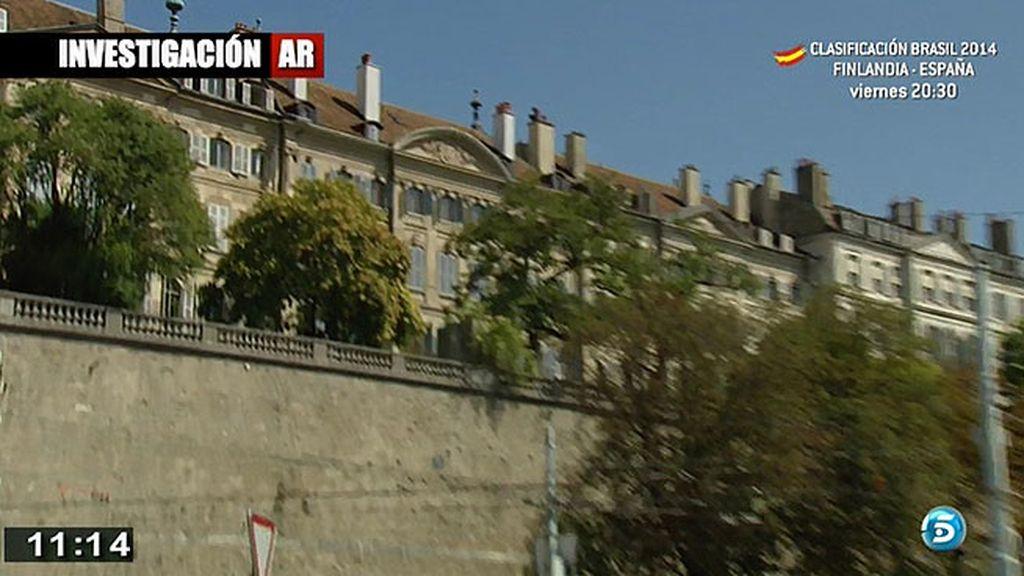 Los Duques habrían alquilado dos pisos, uno en la tercera y otro en la cuarta planta del edificio