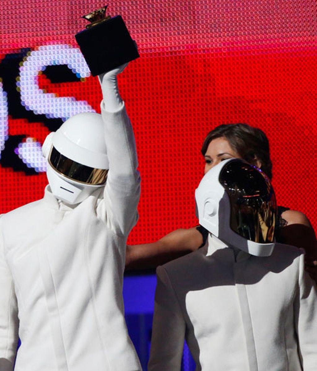 Daft Punk, triunfadores de los Grammy