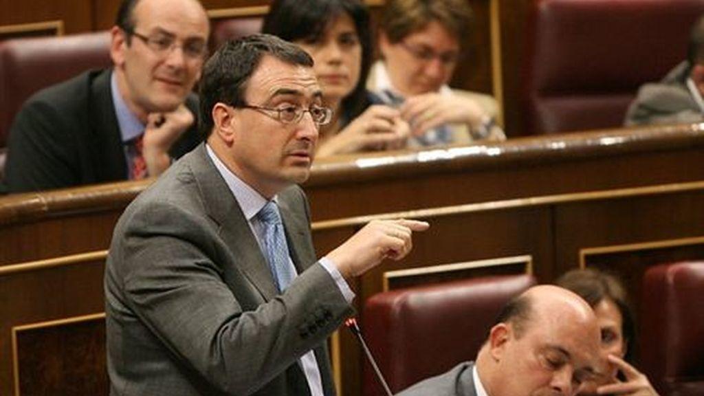 Aitor Esteban, portavoz del PNV en el Congreso. Foto: PNV