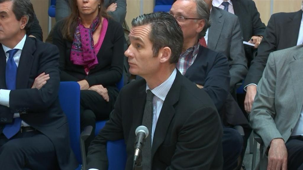 Iñaki Urdangarín declara ante el juez