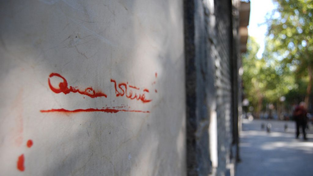 La movilización de los grafiteros