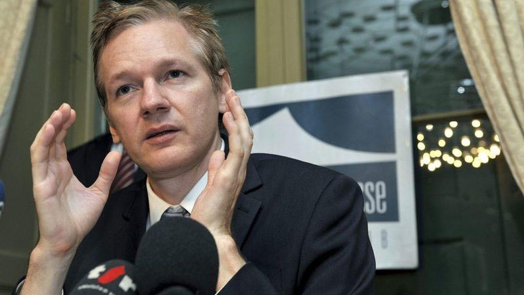 Imagen de archivo del fundador de WikiLeaks, Julian Assange