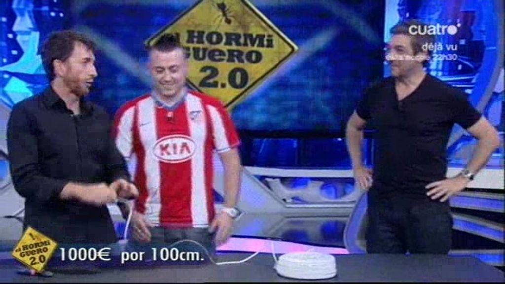 Mil euros por un metro