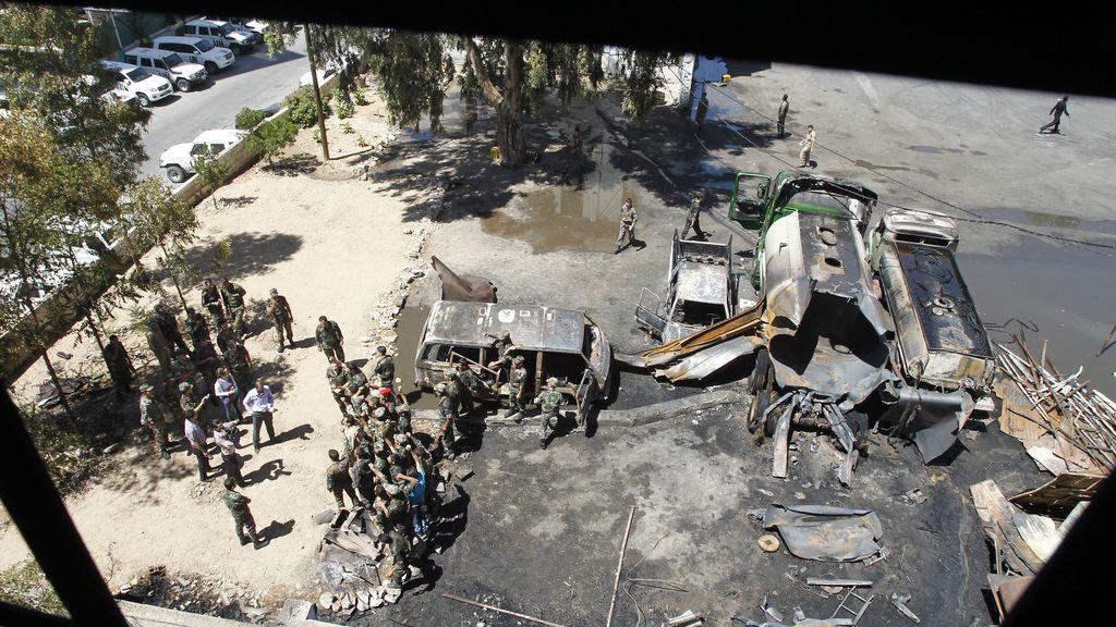 Explosión en Damasco