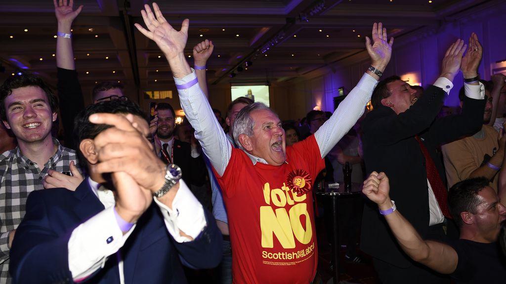 Escocia vota No. Foto: REuters