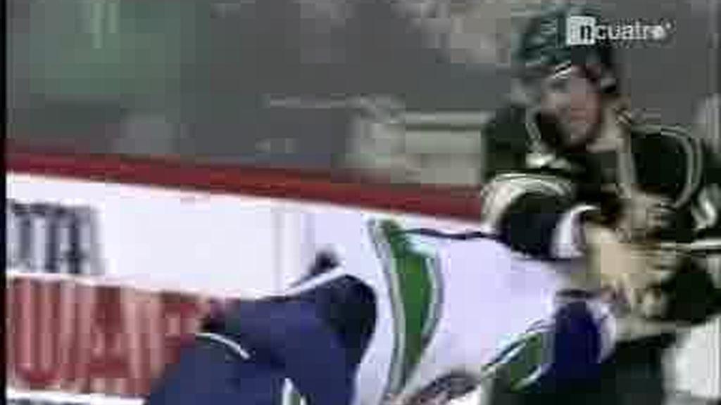 Bofetadas en la NHL