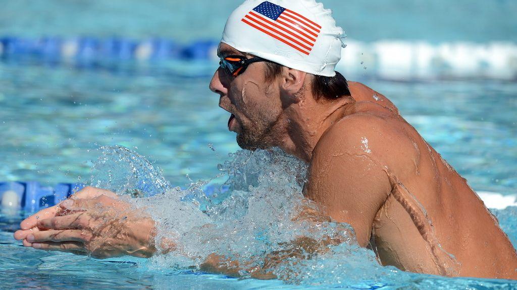 Phelps. Foto: EFE