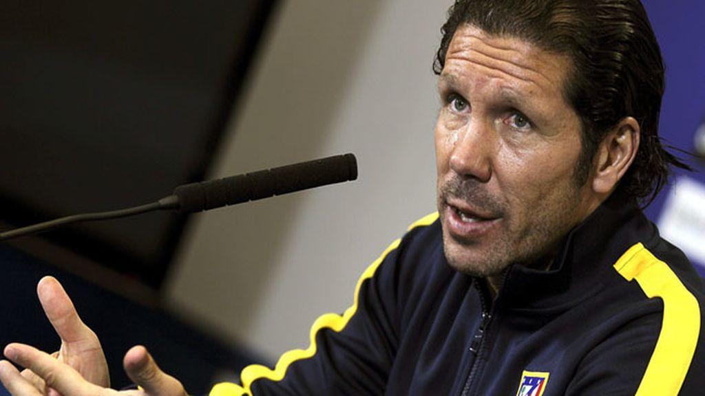 """Simeone: """"El Athletic nos va a pedir un esfuerzo más del que estamos acostumbrados"""""""
