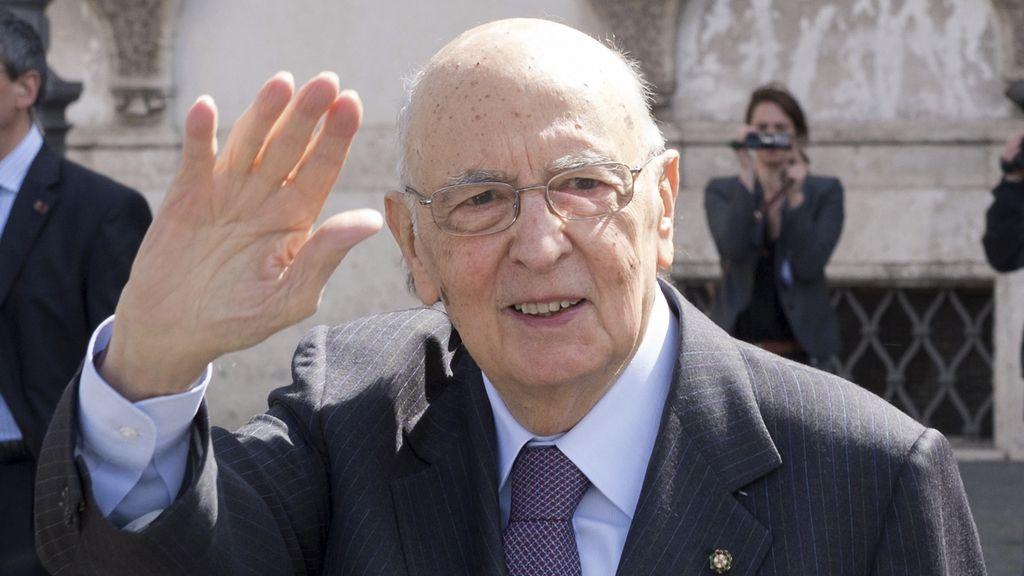 Giorgio Napolitano acepta un segundo mandato