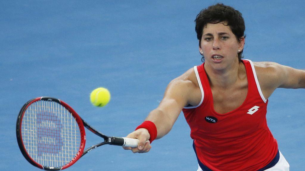 La tenista Carla Suárez