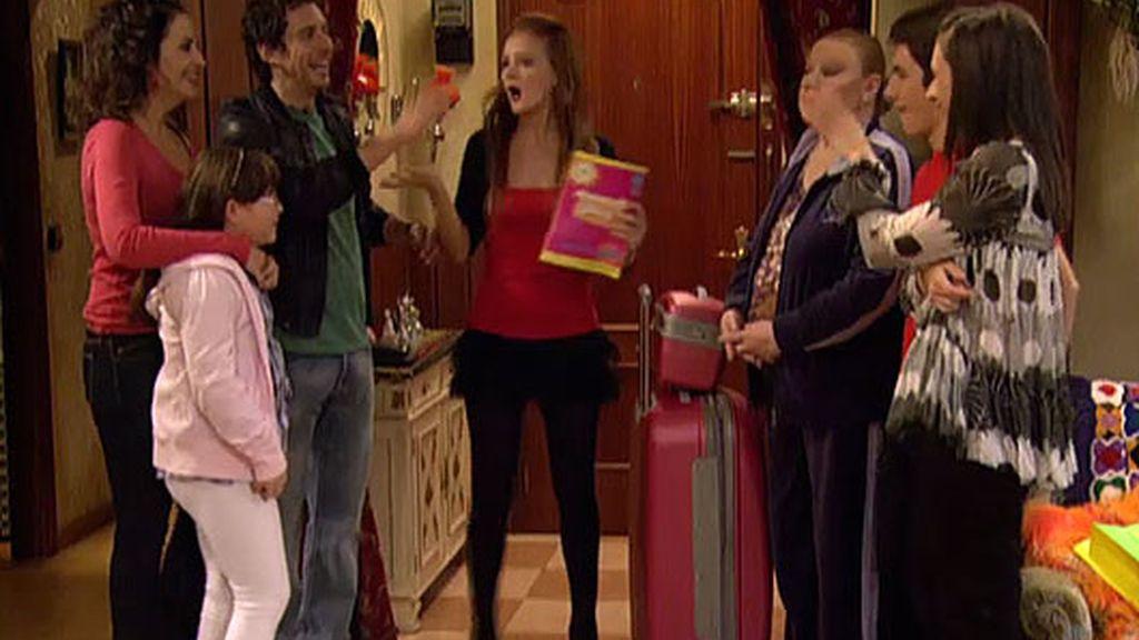 Lorena entra en la casa de Guadalix