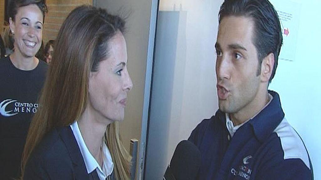 La popular presentadora de Cuatro entrevista a David Bustamante