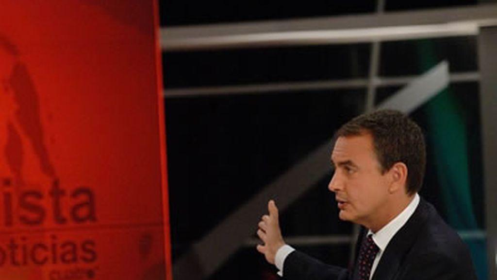 Entrevista Zapatero