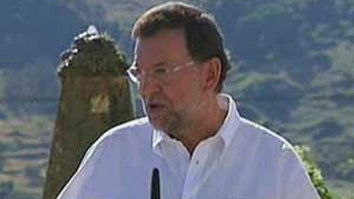 Rajoy ha anunciado que presentará esta misma semana una enmienda para que la Ley sea devuelta. Vídeo: Informativos Telecinco
