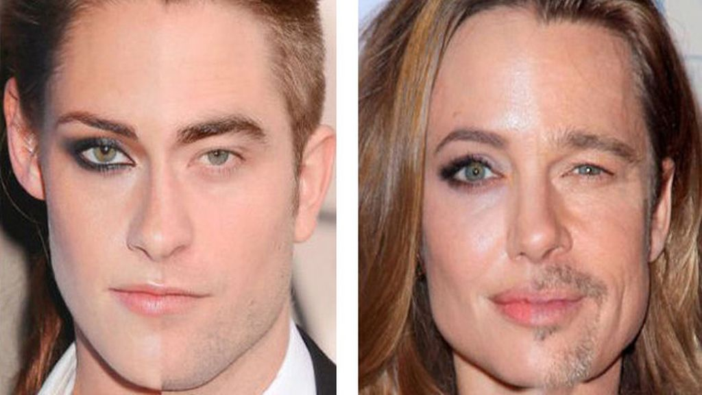 Kristen Stewart y Robert Pattinson/ Angeline Jolie Brad Pitt