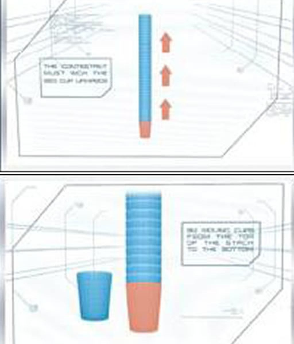 Carrusel de vasos