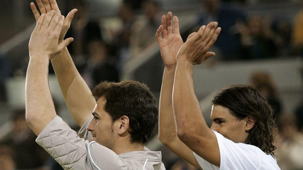Dos cracks dentro y fuera de los terrenos de juego: Iker Casillas y Rafa Nadal