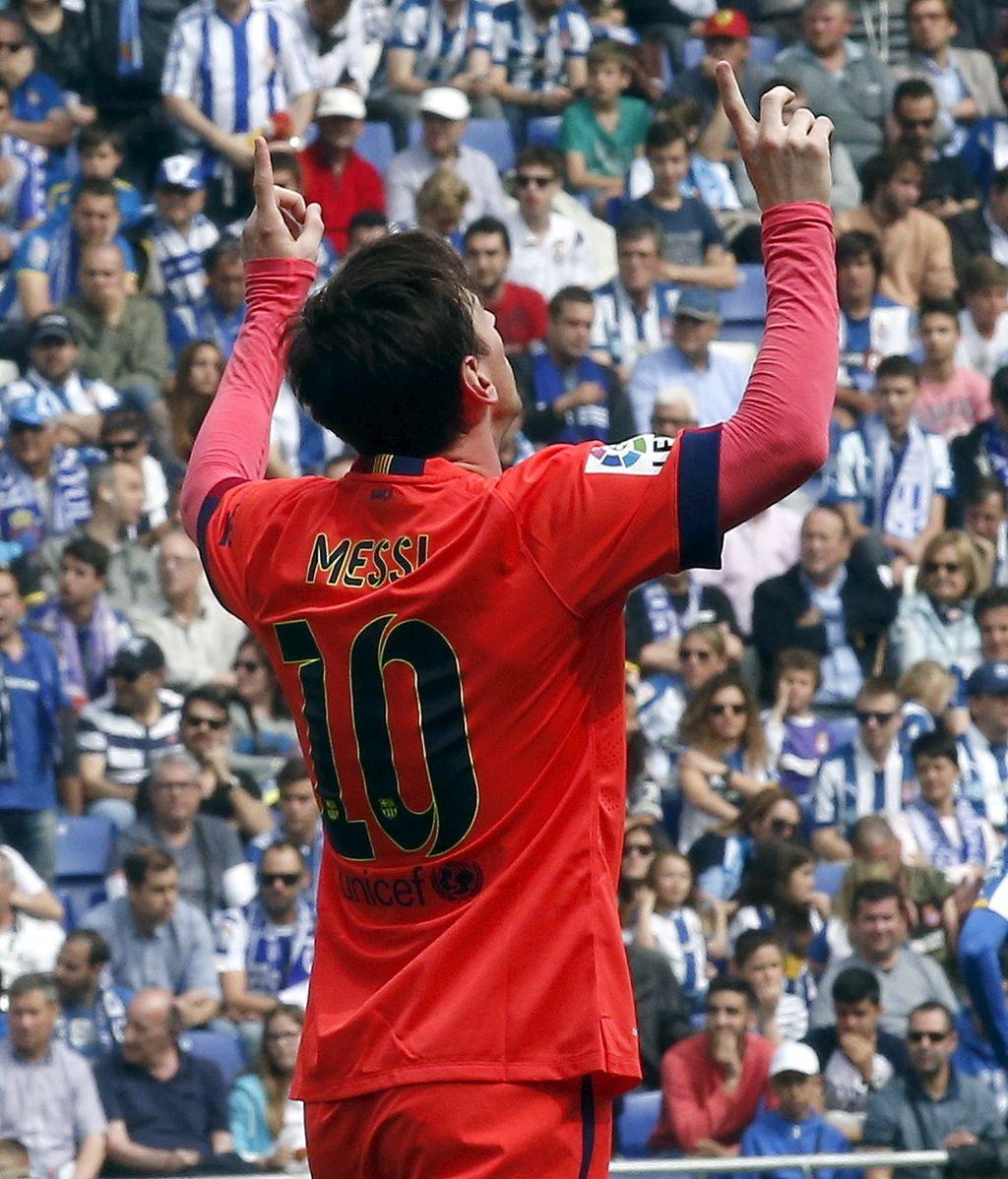 Messi homenajea a Tito Vilanova