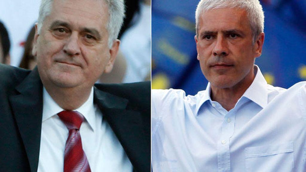 Tomislav Nikolic y Boris Tadic