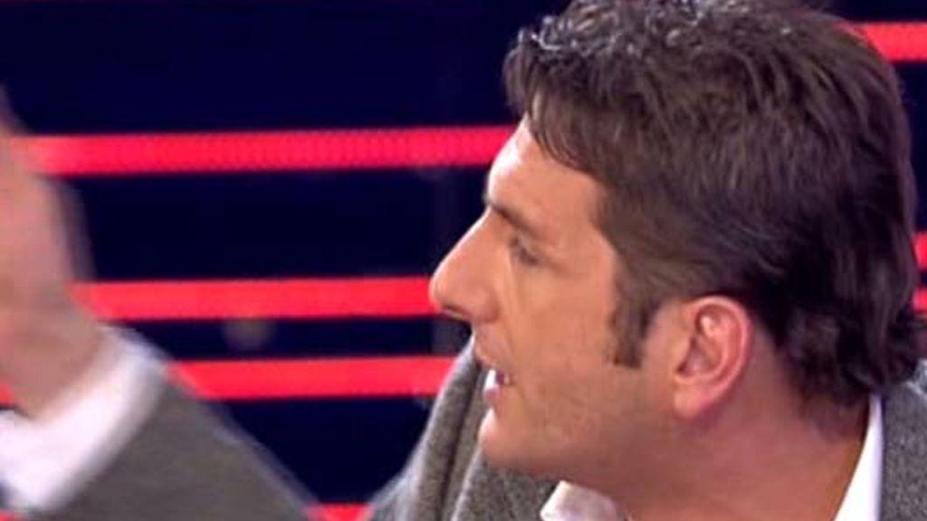 Carlos e Iván se enfrentan cara a cara