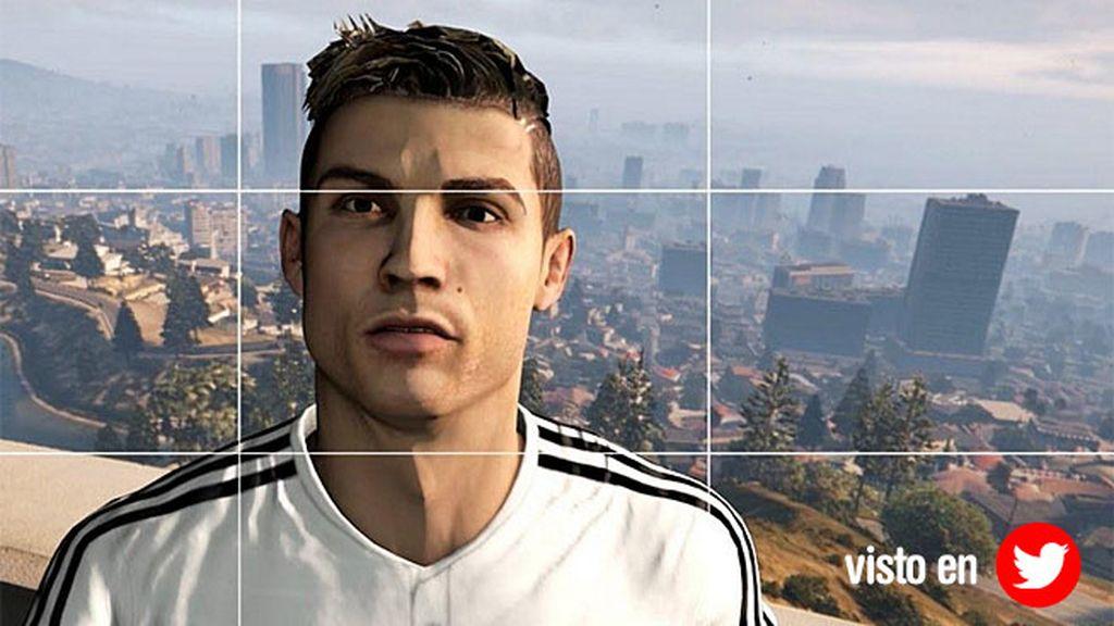 El futbolista blanco la lía en Los Santos gracias al videojuego