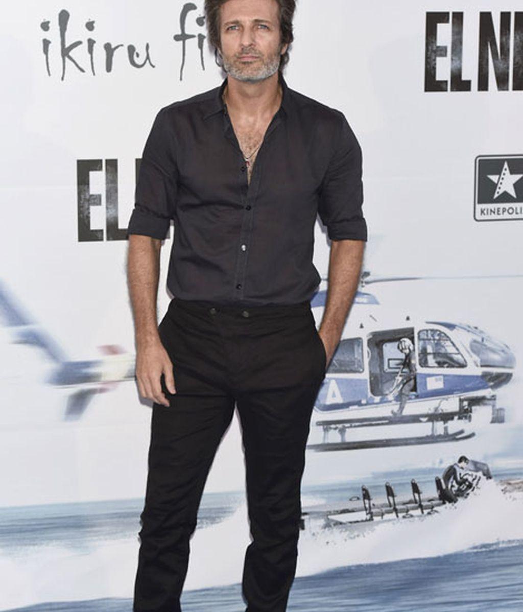 Jesús Olmedo acudió con unas sandalias negras