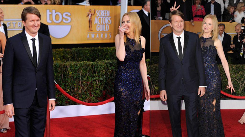 Nicole Kidman se lo paso pipa en la alfombra roja
