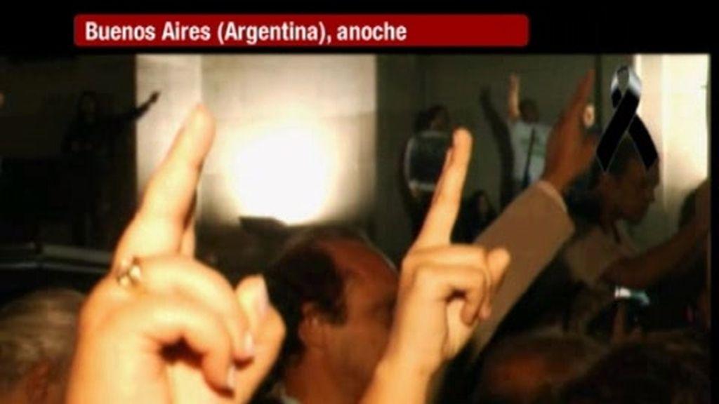 Argentina llora por Krichner