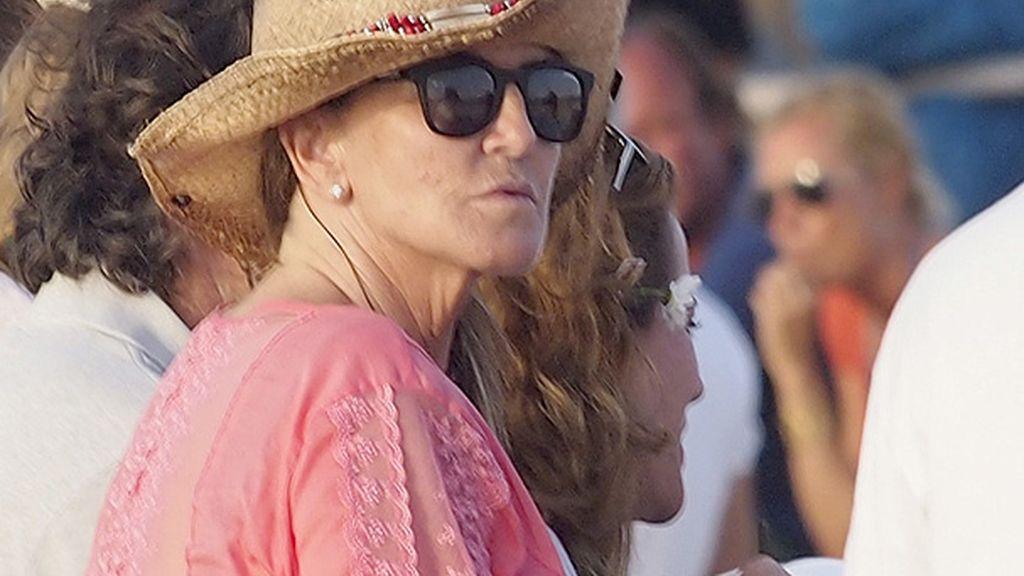 Susana acudió a la presentación de la colección de joyas de Elena Tablada