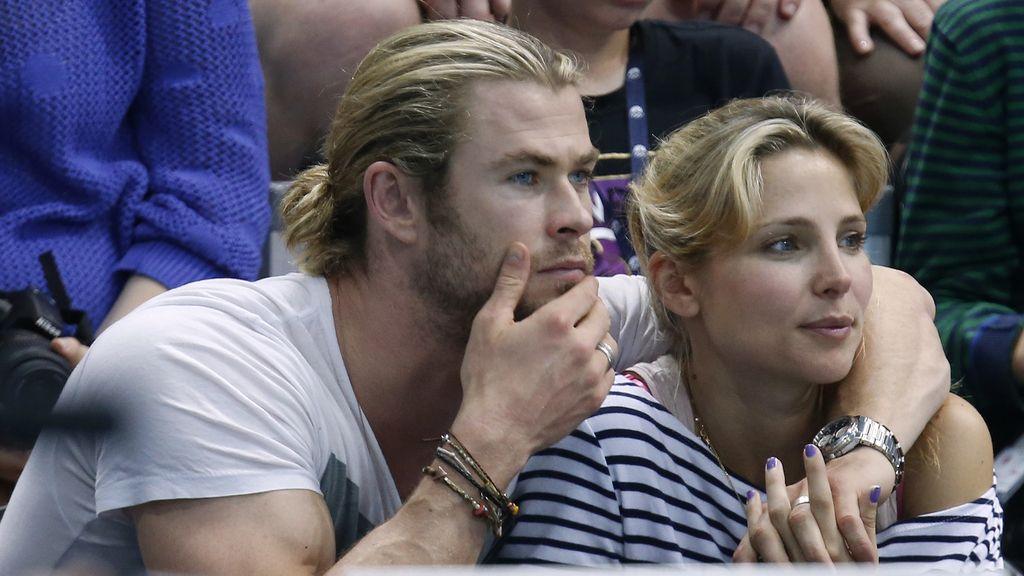 Elsa Pataky y su marido Chris Hemsworth