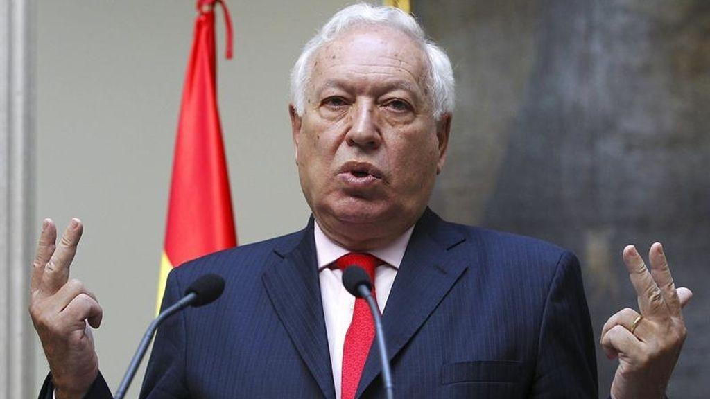 ministro de Asuntos Exteriores y de Cooperación, José Manuel García-Margallo.