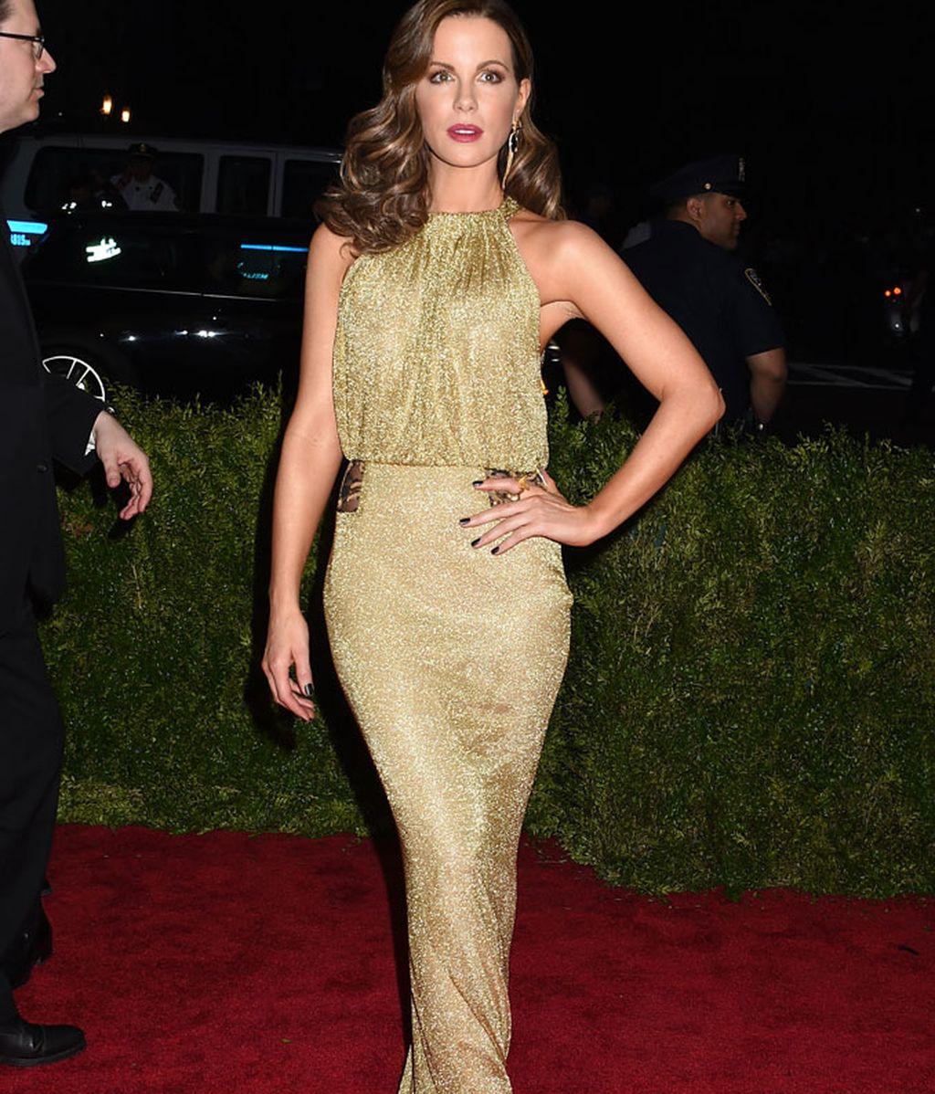 Kate Beckinsale con vestido de Diane von Furstenberg