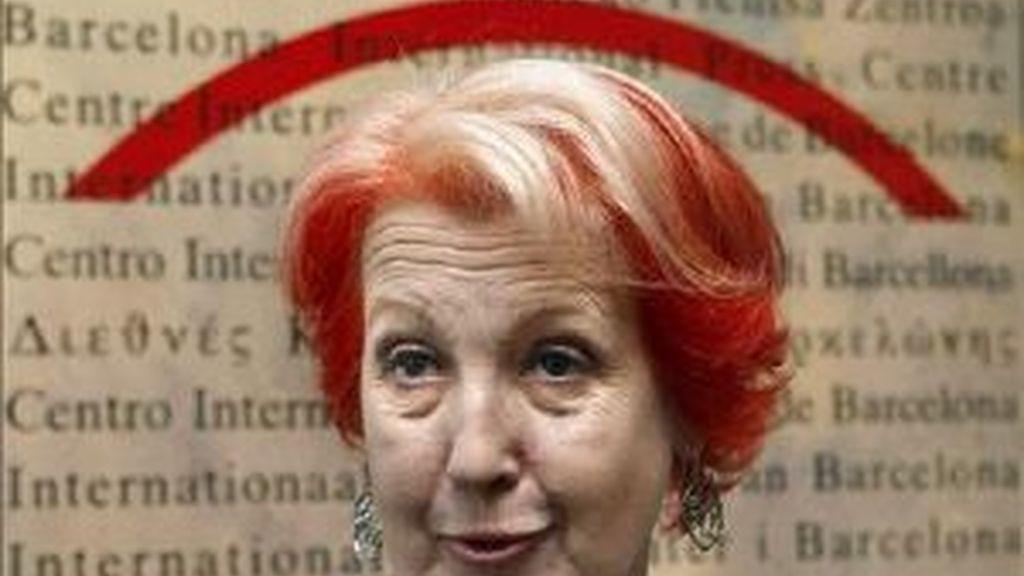 Imagen de archivo de Rosa María Calaf.