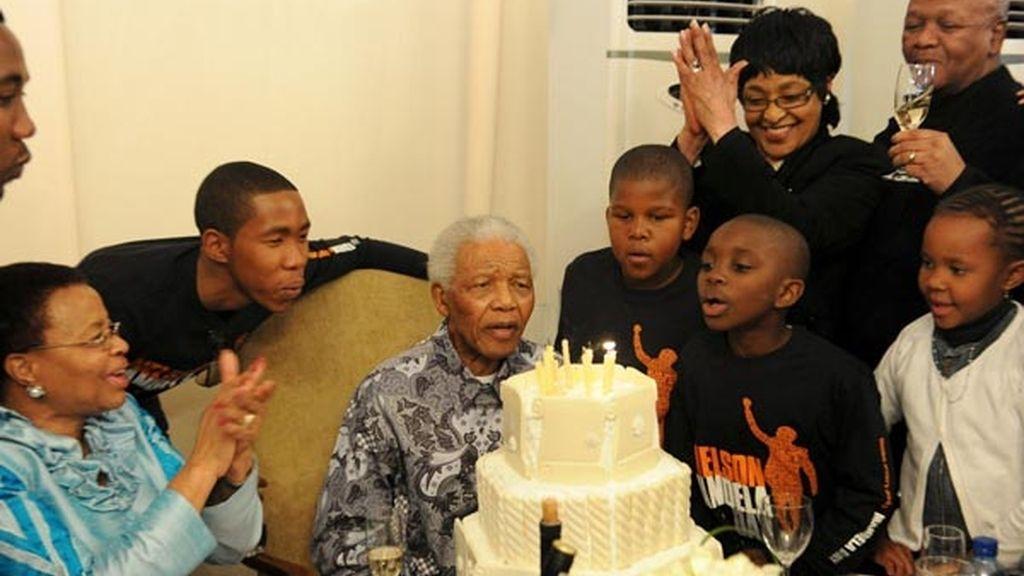El mundo celebra el cumpleaños de Nelson Mandela