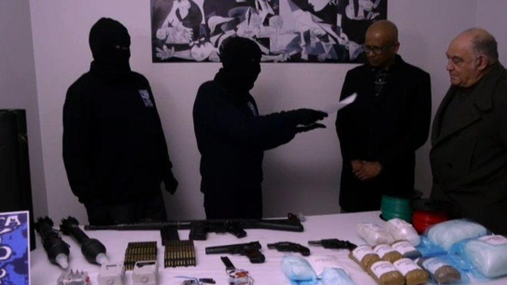 La BBC muestra imágenes del supuesto desarme de ETA