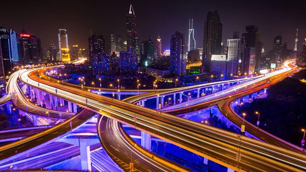 Autopistas elevadas de Shanghái