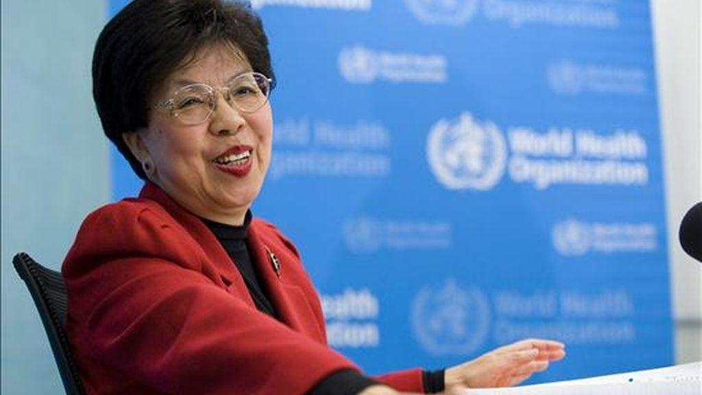 La directora general de la Organización Mundial de la Salud (OMS), Margaret Chan. EFE/Archivo