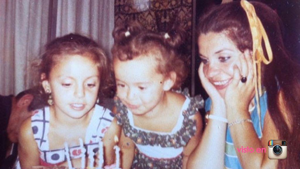 La 'foto remember' de Pati Conde en homenaje a su mamá y a su hermana, también madre