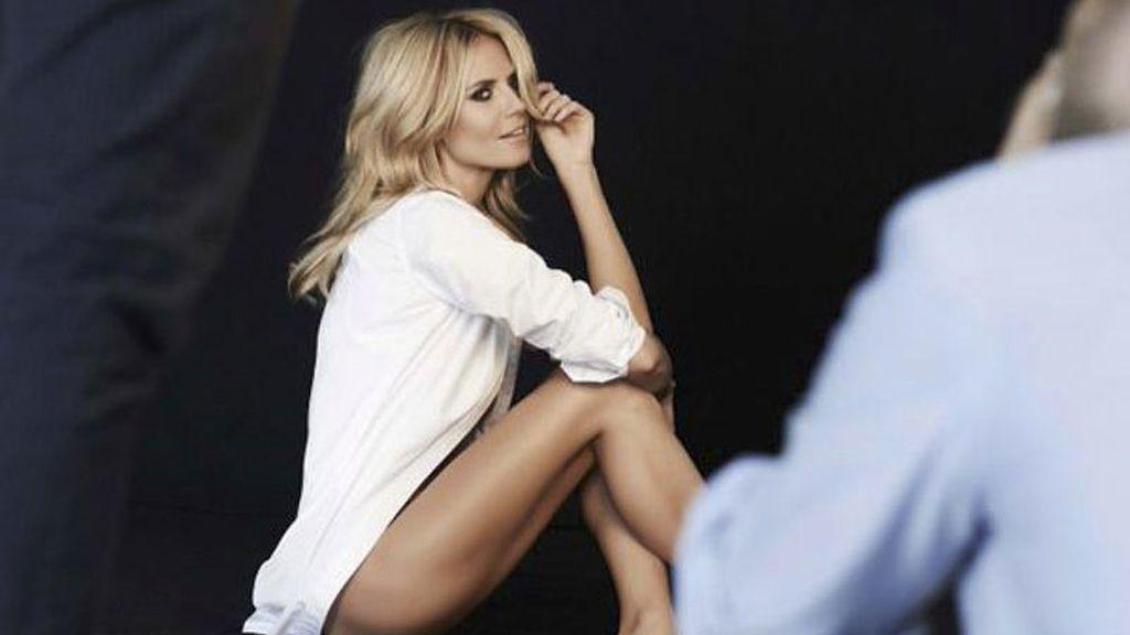 Heidi Klum lanza su propia línea de lencería