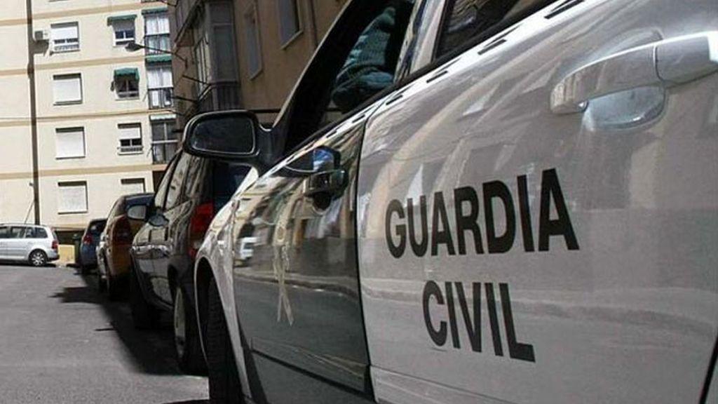 Imagen de archivo de un coche de Guardia Civil.