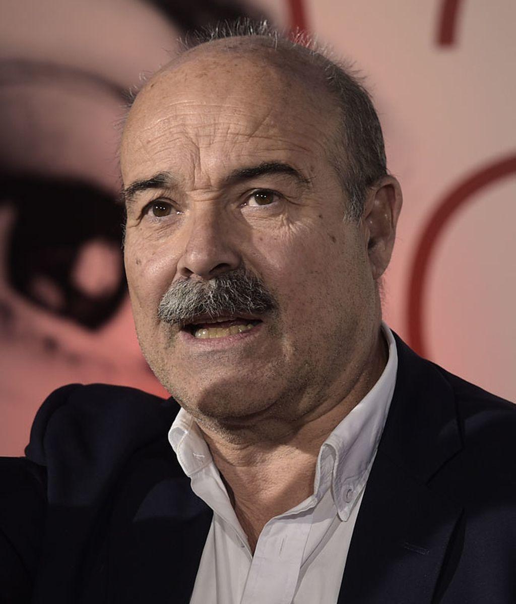 El presidente de la academia, Antonio Resines