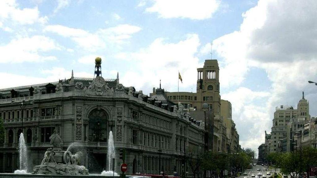 La plaza de Cibeles de Madrid