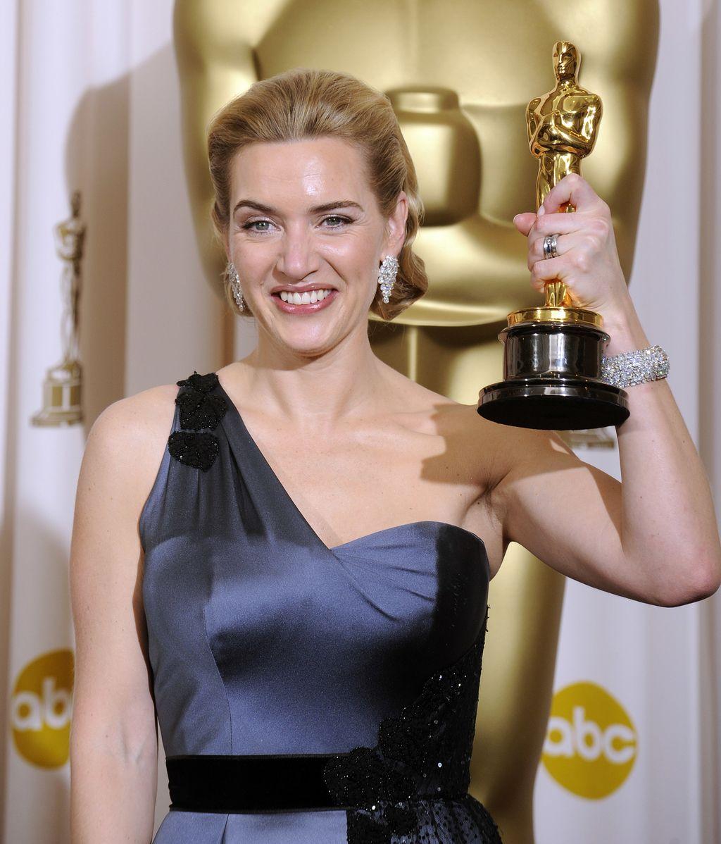 Kate Winslet, con su Oscar