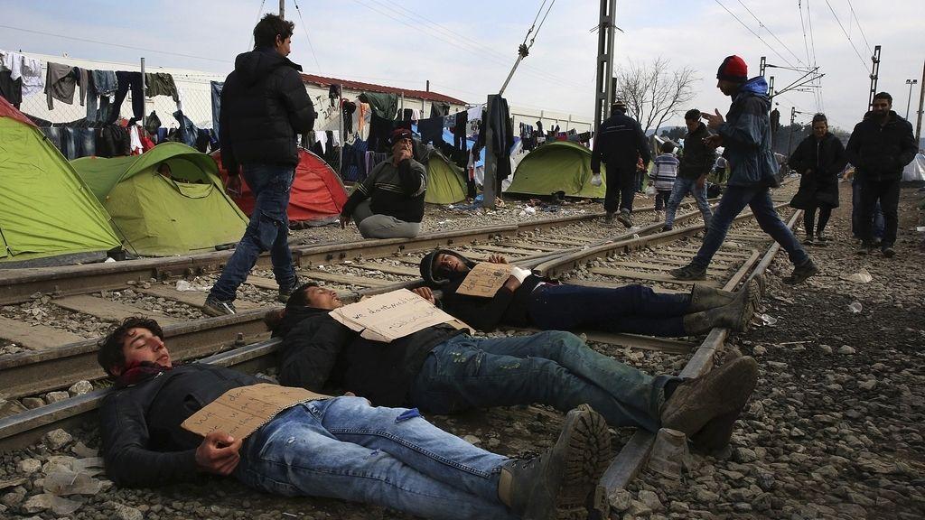 Refugiados en Idomei
