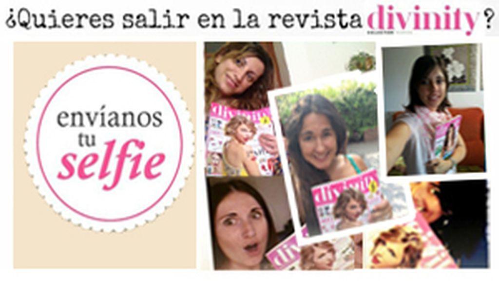¿Quieres salir en la Revista Divinity y conseguir un set de tratamiento Capilar Redken? ¡Envíanos tu 'selfie'!