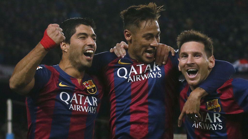 Messi, Neymar y Luis Suárez